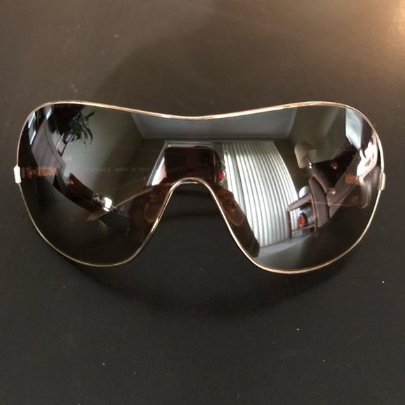 dc704bf12fce Versace Shield Sunglasses. M 5b4bad84a31c3350f4ef2f87. Other Accessories ...